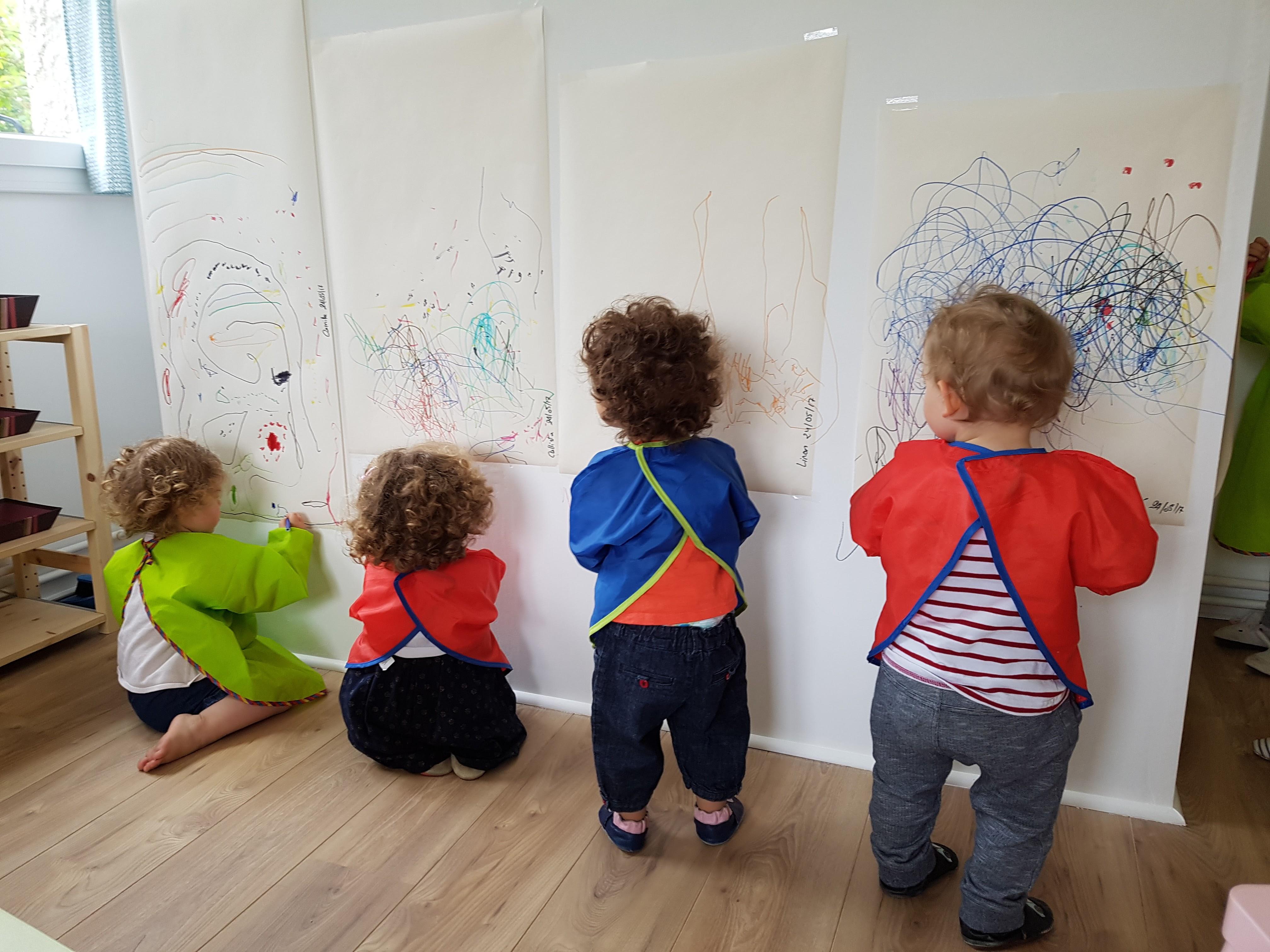 Atelier peinture à la MAM