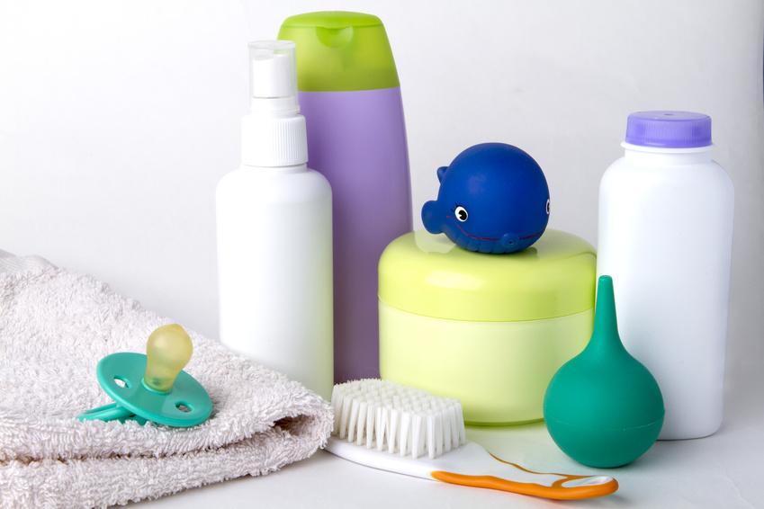 produits de toilette pour bébé