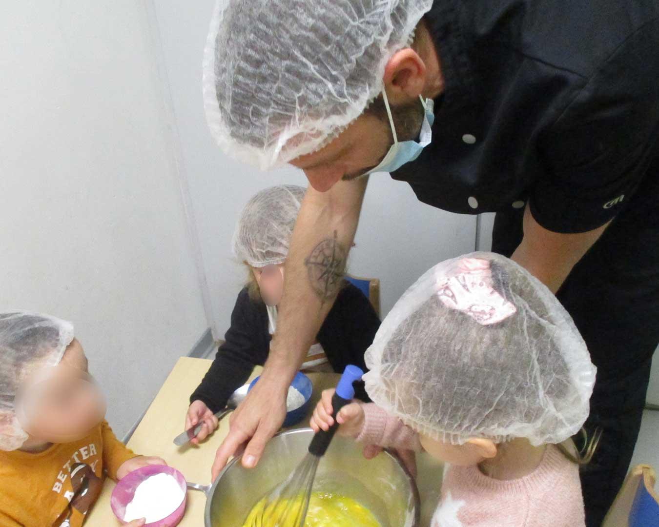 atelier pâtisserie La Maison de la Famille
