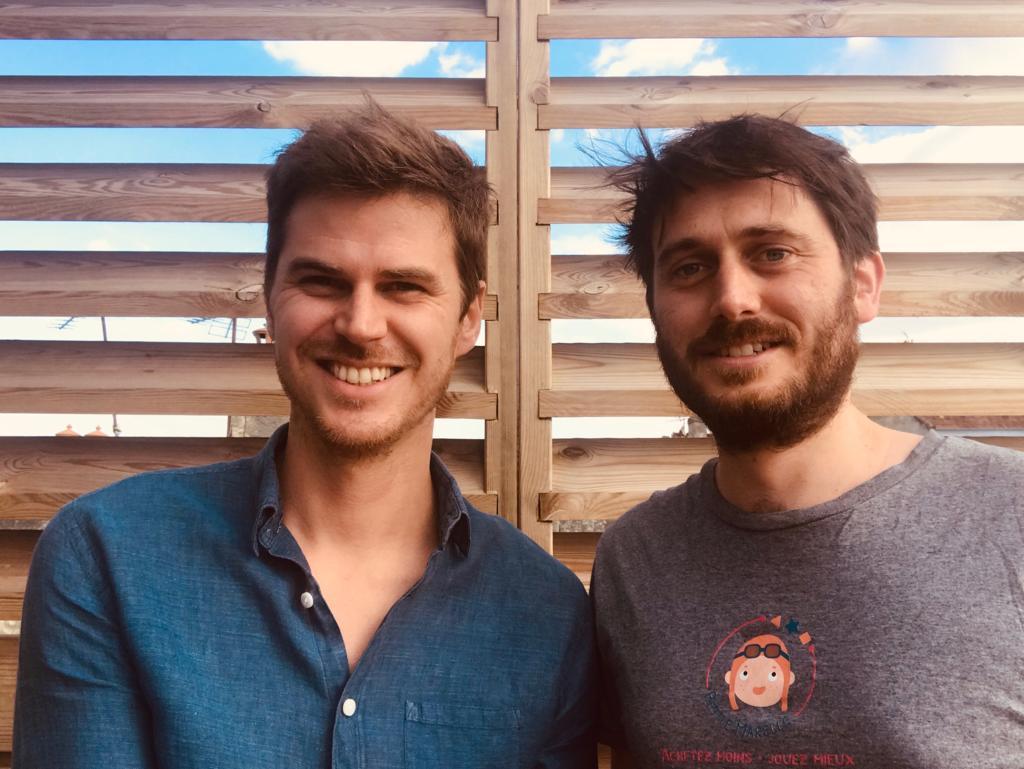 Baptiste et Adrien