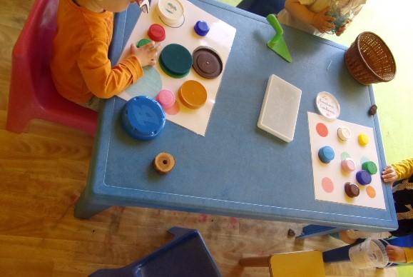bouchons de couleurs