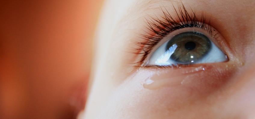 larme oeil d