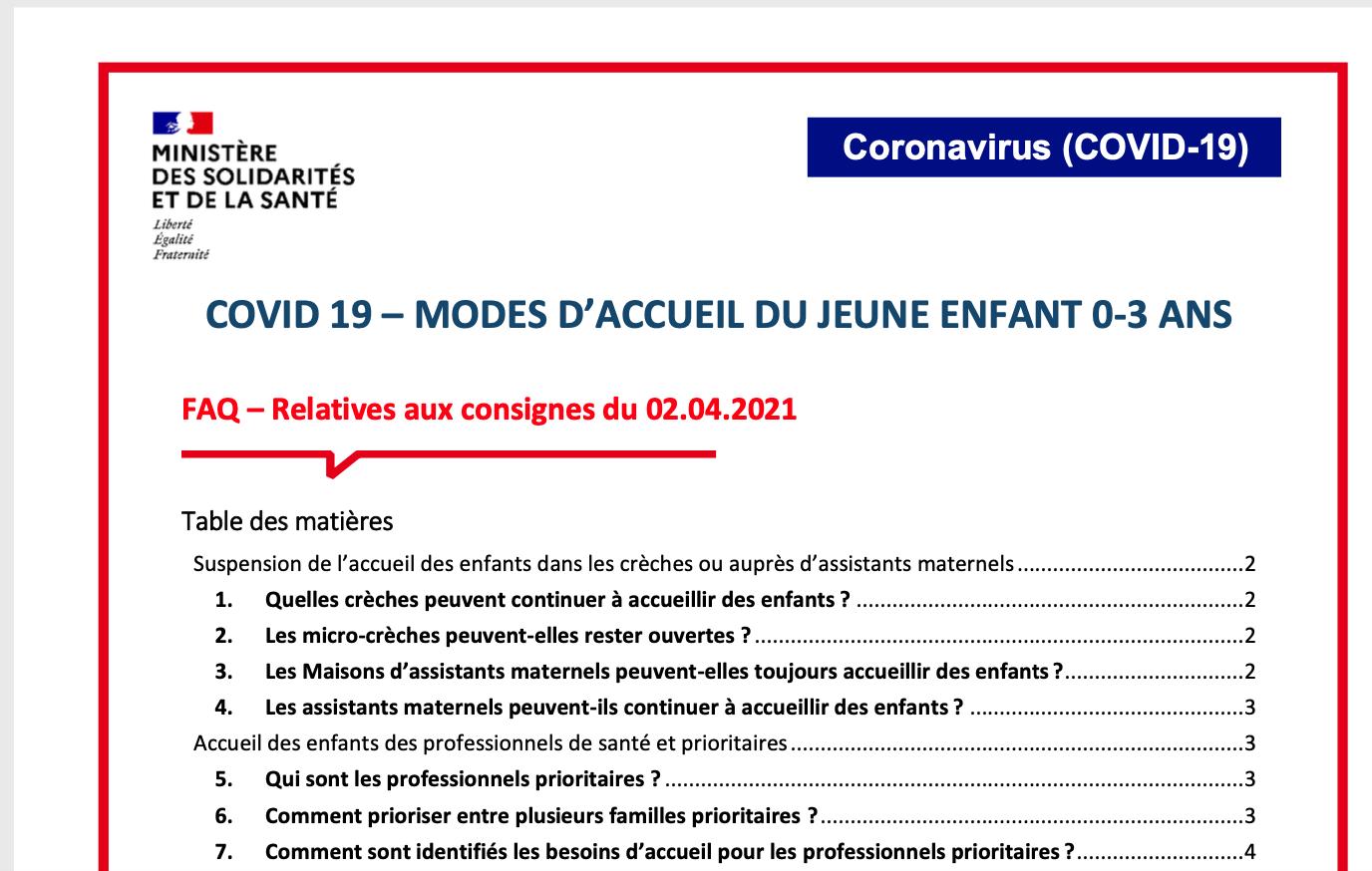 Covid 19 -modes d