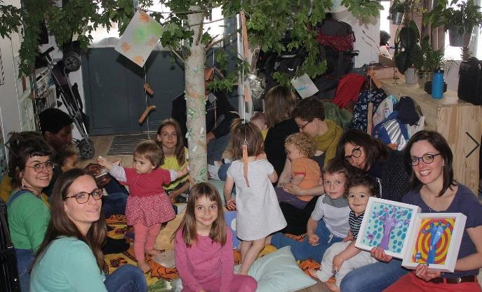 ateliers enfants-parents chez Céline