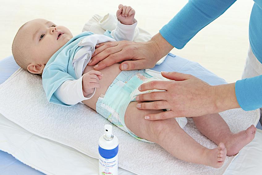 Soins donnés à un bébé