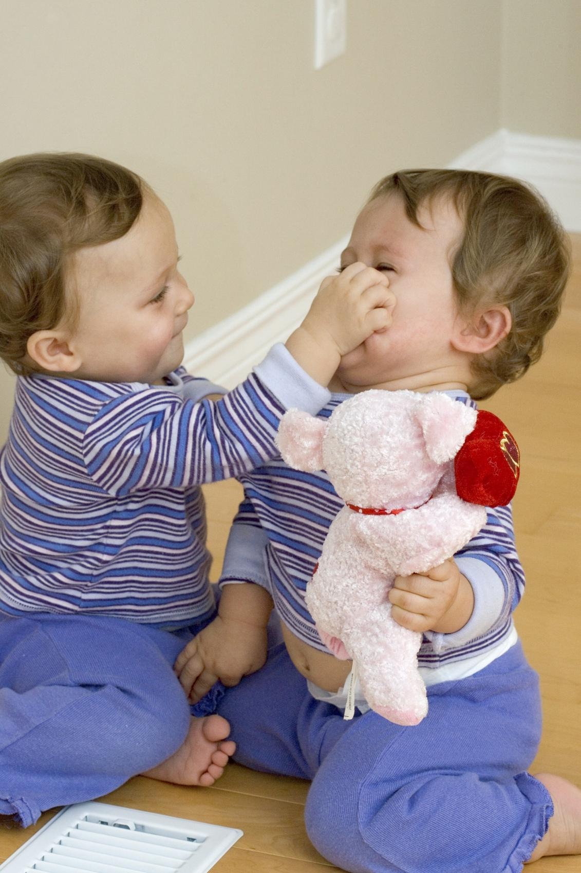 conflit entre petits enfants
