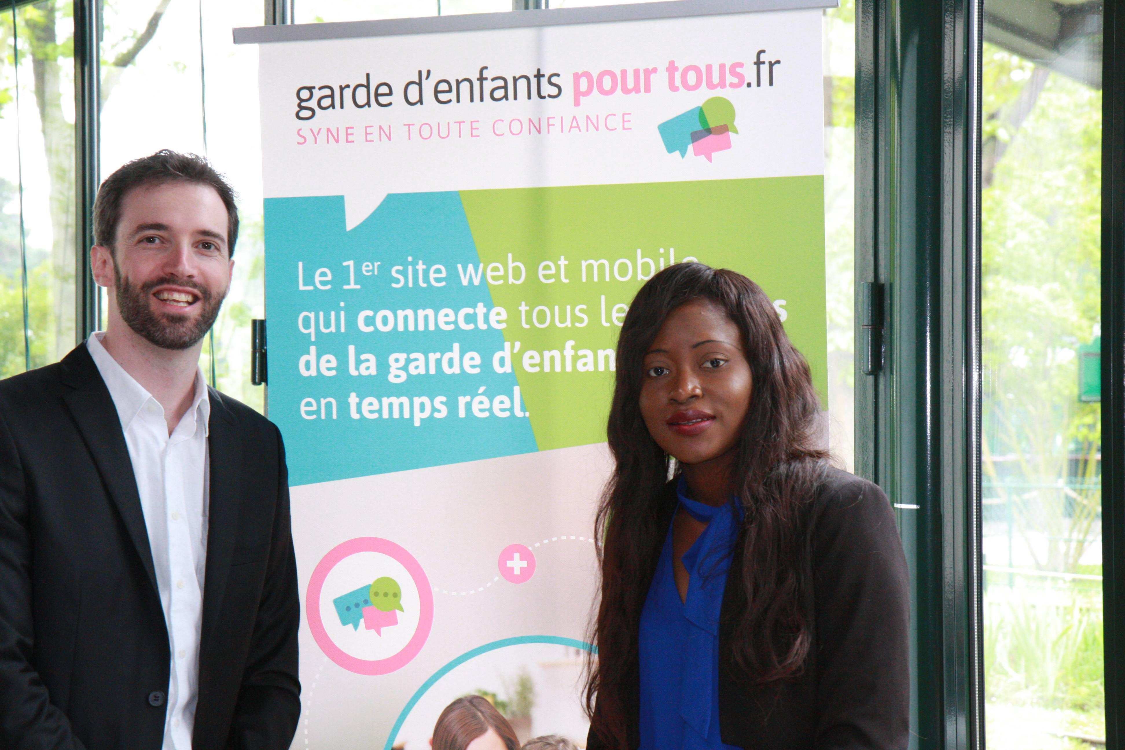 Olivier Jubin et Maryse Degboe de Garde d