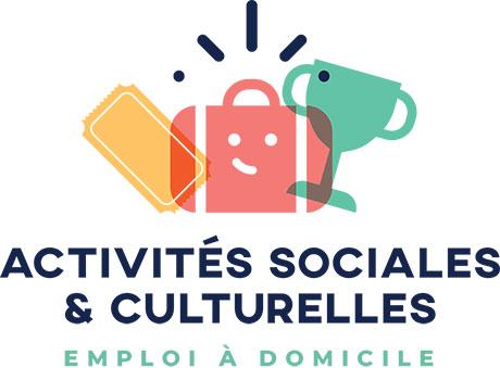 LOGO activités sociales et culturelles emploi à domicile