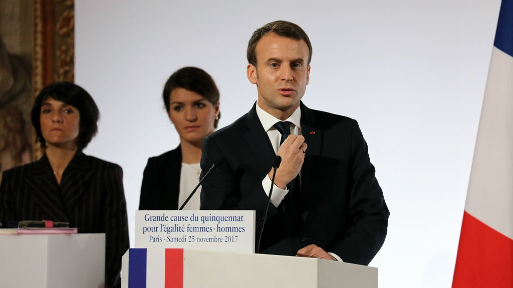 Emmanuel Macron discours égalitéfemmes hommes