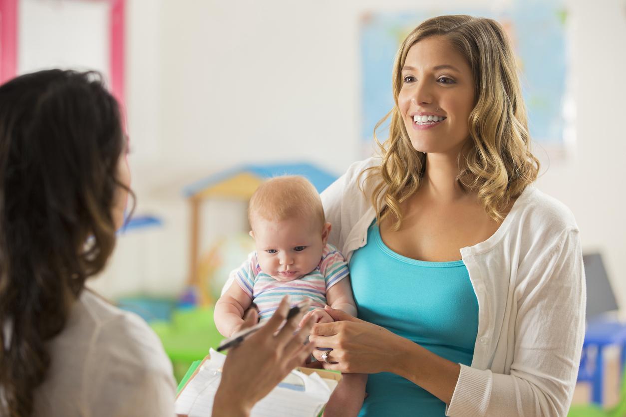 Professionnelle, maman et bébé