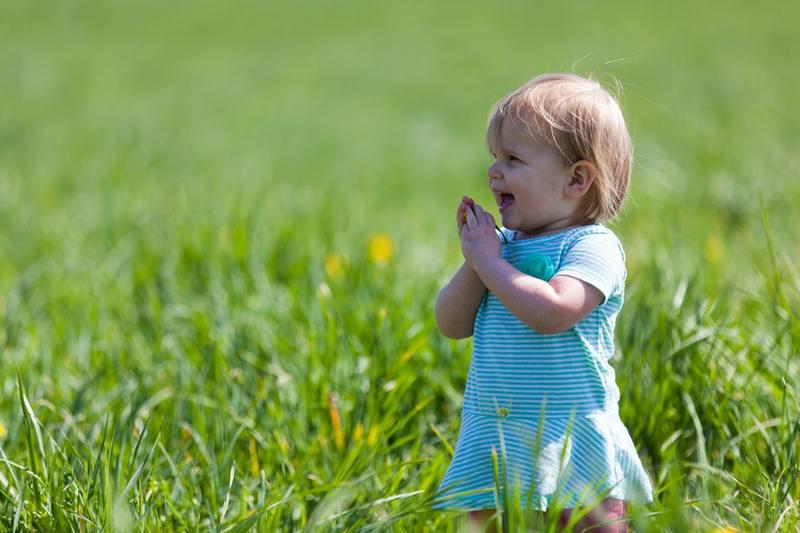 petite fille nature