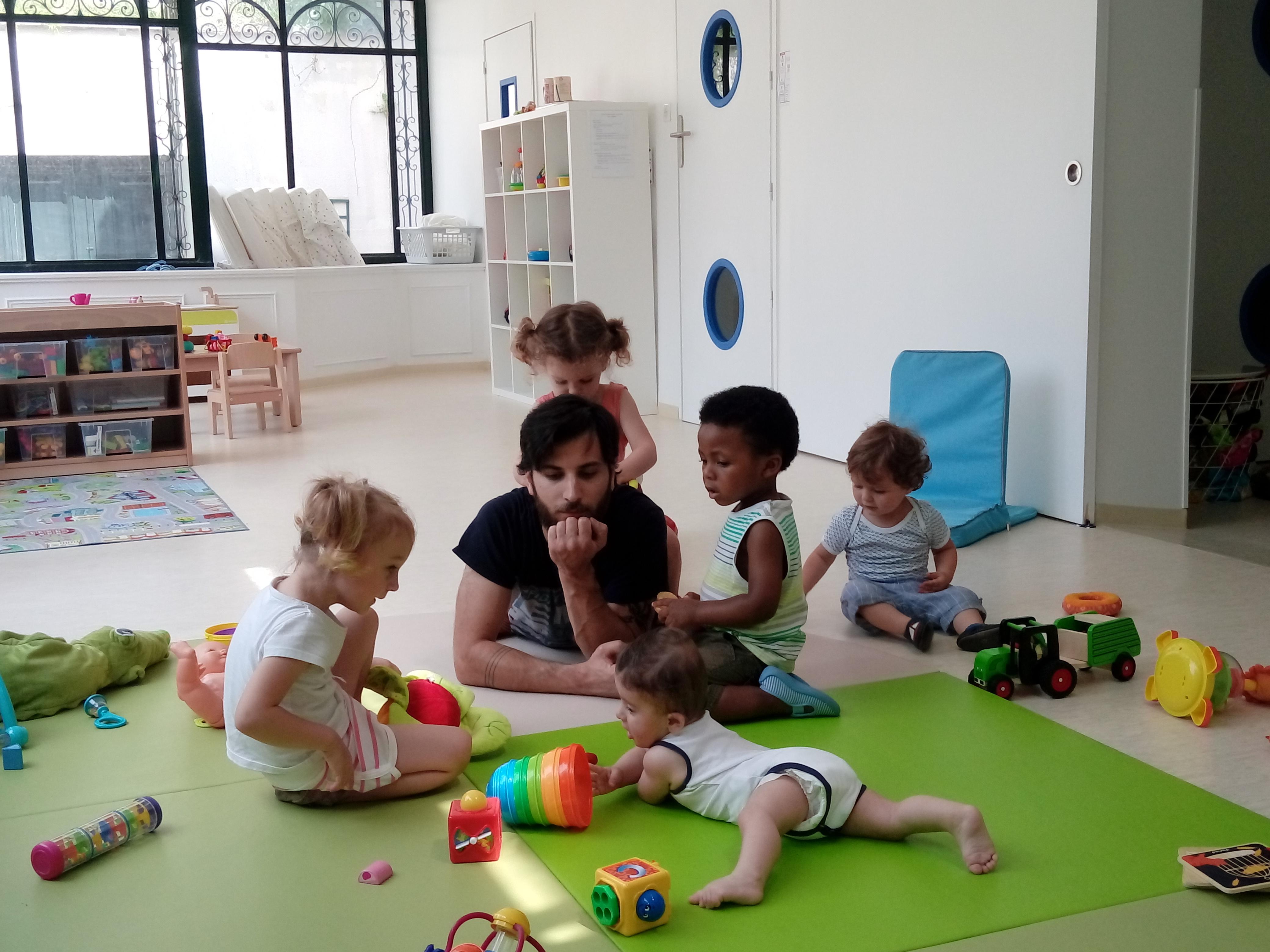 enfants et professionnel