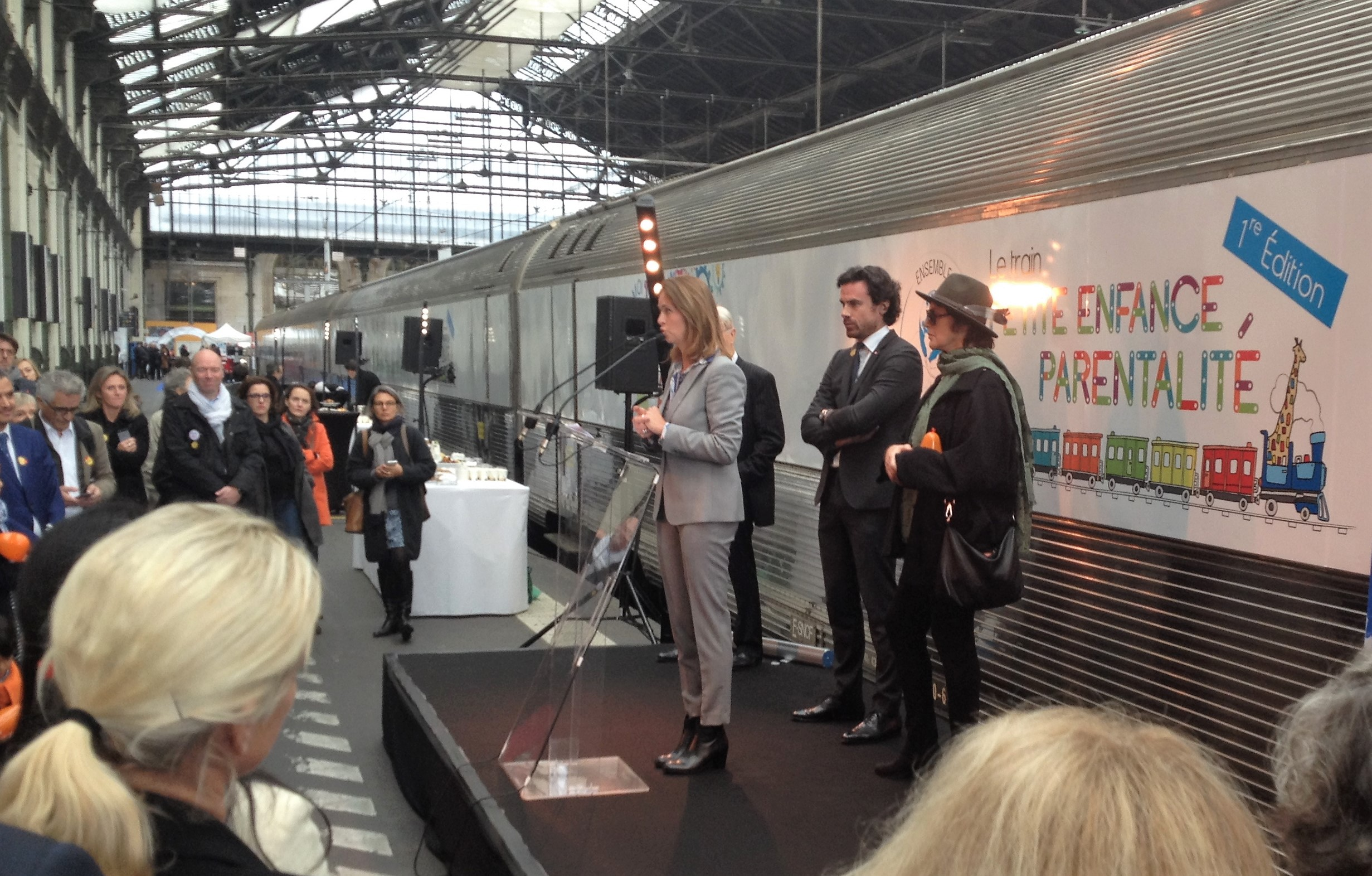 Inauguration du Train