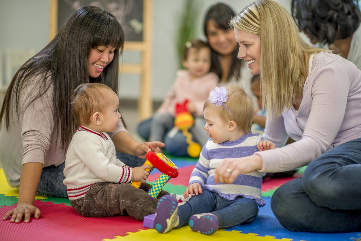 professionnelles avec jeunes enfants