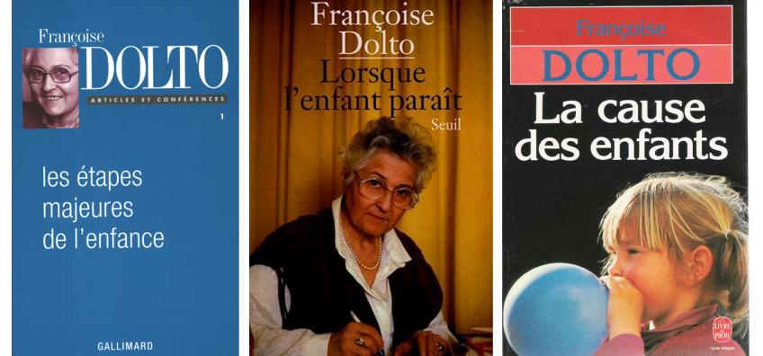 Francoise Dolto livre lorsque l'enfant naît