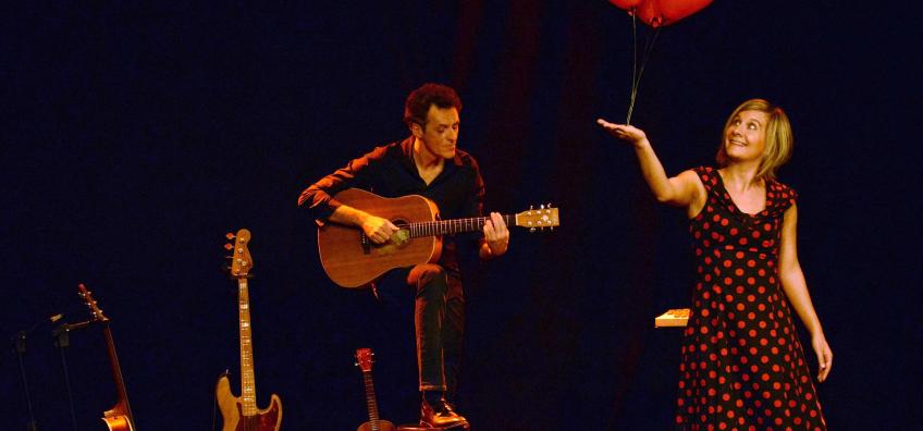 artistes sur scène