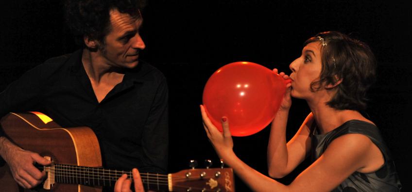 guitare et ballon
