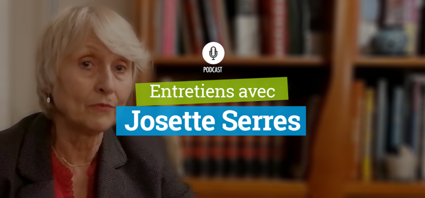 Entretiens avec Josette Serres