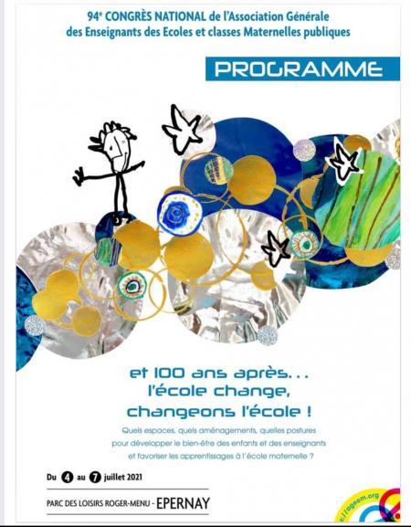 Affiche du congrès national de l