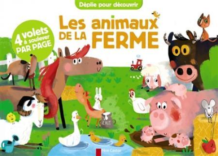 Livre Les animaux de la ferme de Père Castor