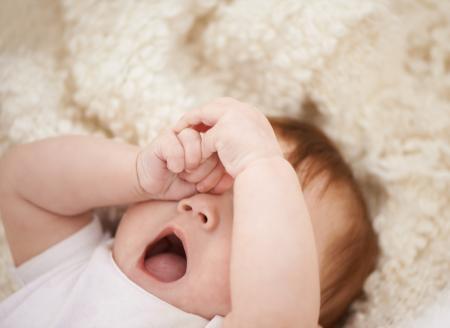 bébé a du mal à s
