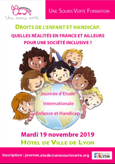 19 Novembre 2019 Journee D Etude Internationale Enfance Handicap
