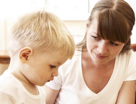 Dialogue professionnelle et enfant