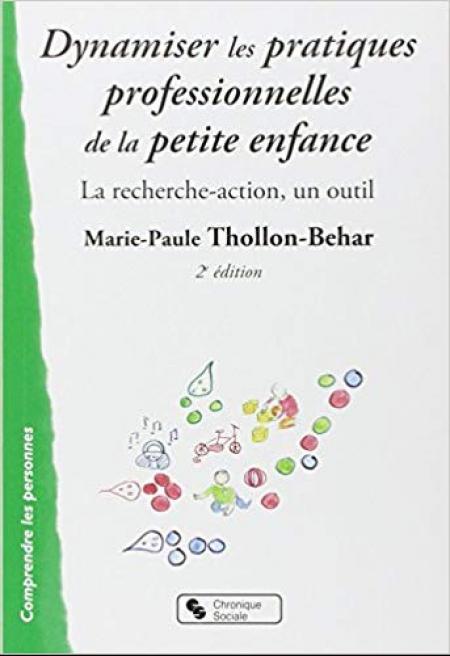 """Couverture du livre """"Dynamiser les pratiques professionnelles de la petite enfance"""""""