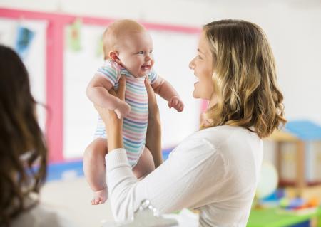 A la crèche pro porte bébé