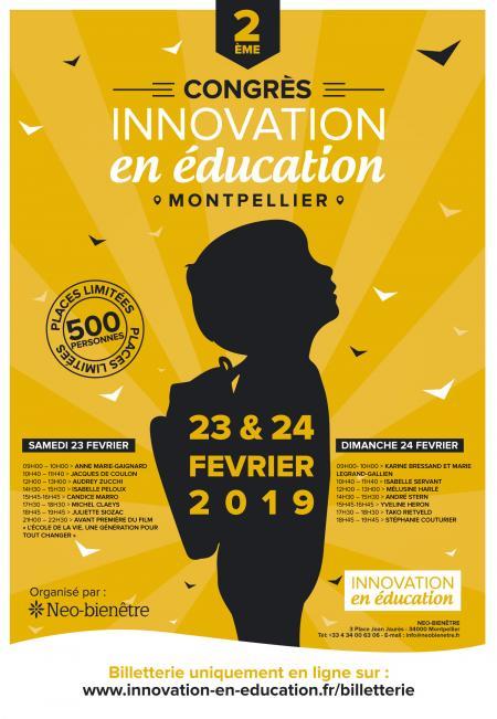 Congrès innovation en éducation