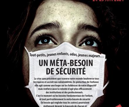 Affiche les Assises nationales de la protection de l'enfance
