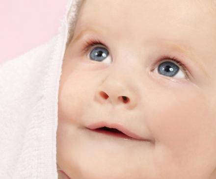 toilette de bébé