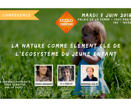 conférence Ecolo Crèche
