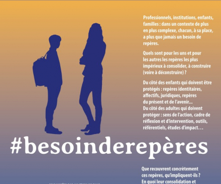 affiche de la 12ème édition des Assises Nationales de la protection de l'enfance