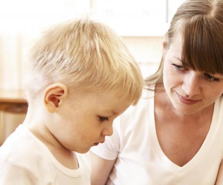 dialogue enfant professionnelle