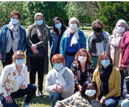 Equipe de la crèche familiale préventive Fa Sol Vie