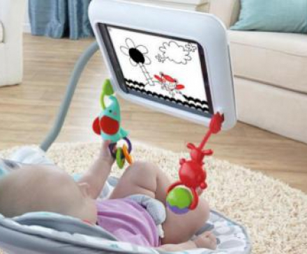 fisher price newborn to toddler apptivity seat for IPad