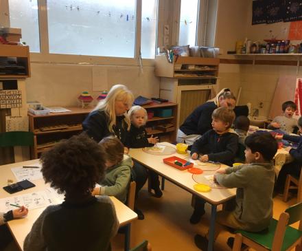 Jardin d'enfants rue de la Solidarité
