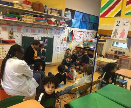 jardin d'enfant Solidarité