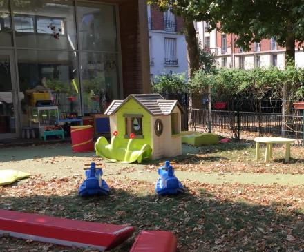 halte-garderie semi plein air Le p'tit jardin