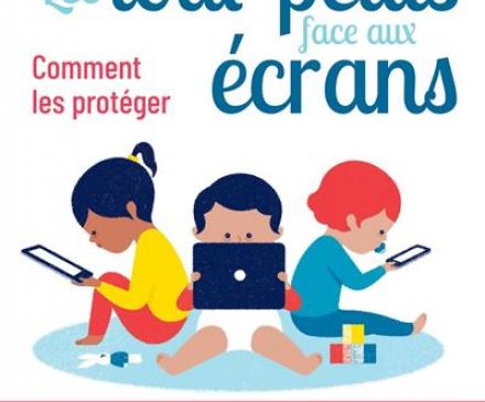 couverture livre  Les tout-petits face aux écrans