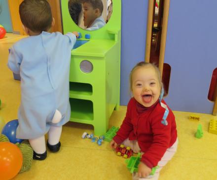 Les Marmousets: enfants porteurs de handicaps bienvenus