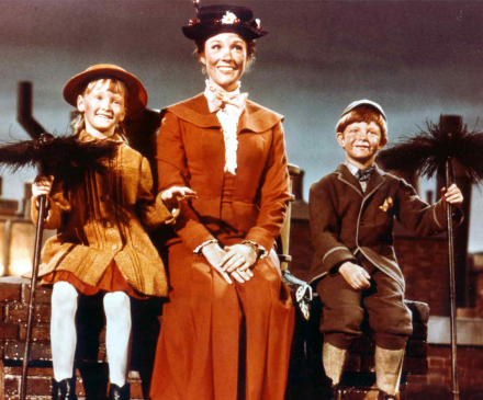 extrait de Mary Poppins