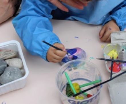 peinture sur galets