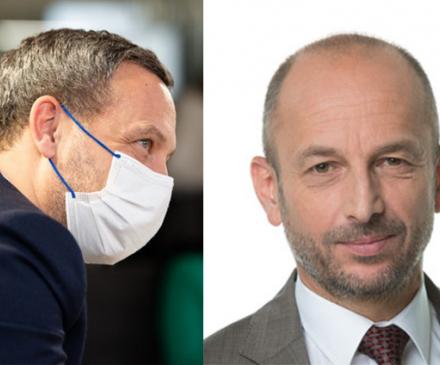 Adrien Taquet et Thierry Beaudet