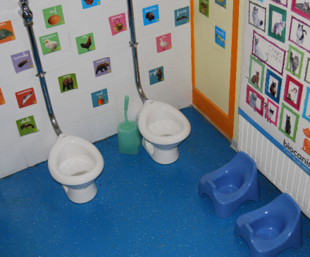 toilettes tout-petits