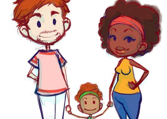Famille mixte