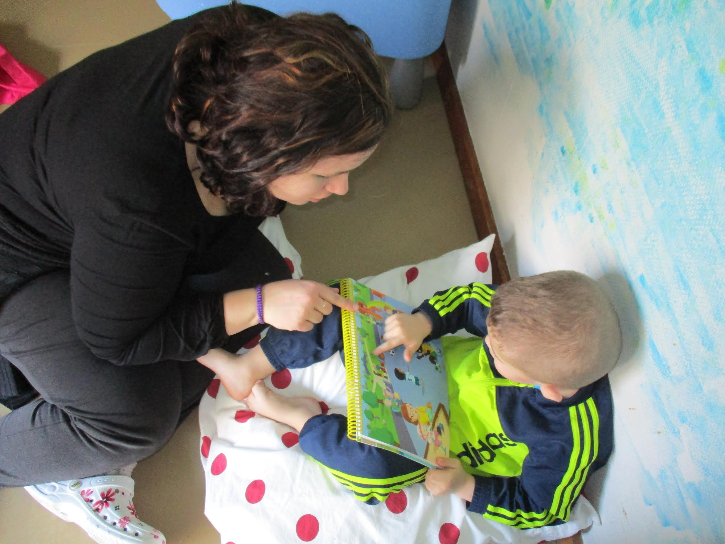 Parler bambin dans une crèche de Courcouronnes