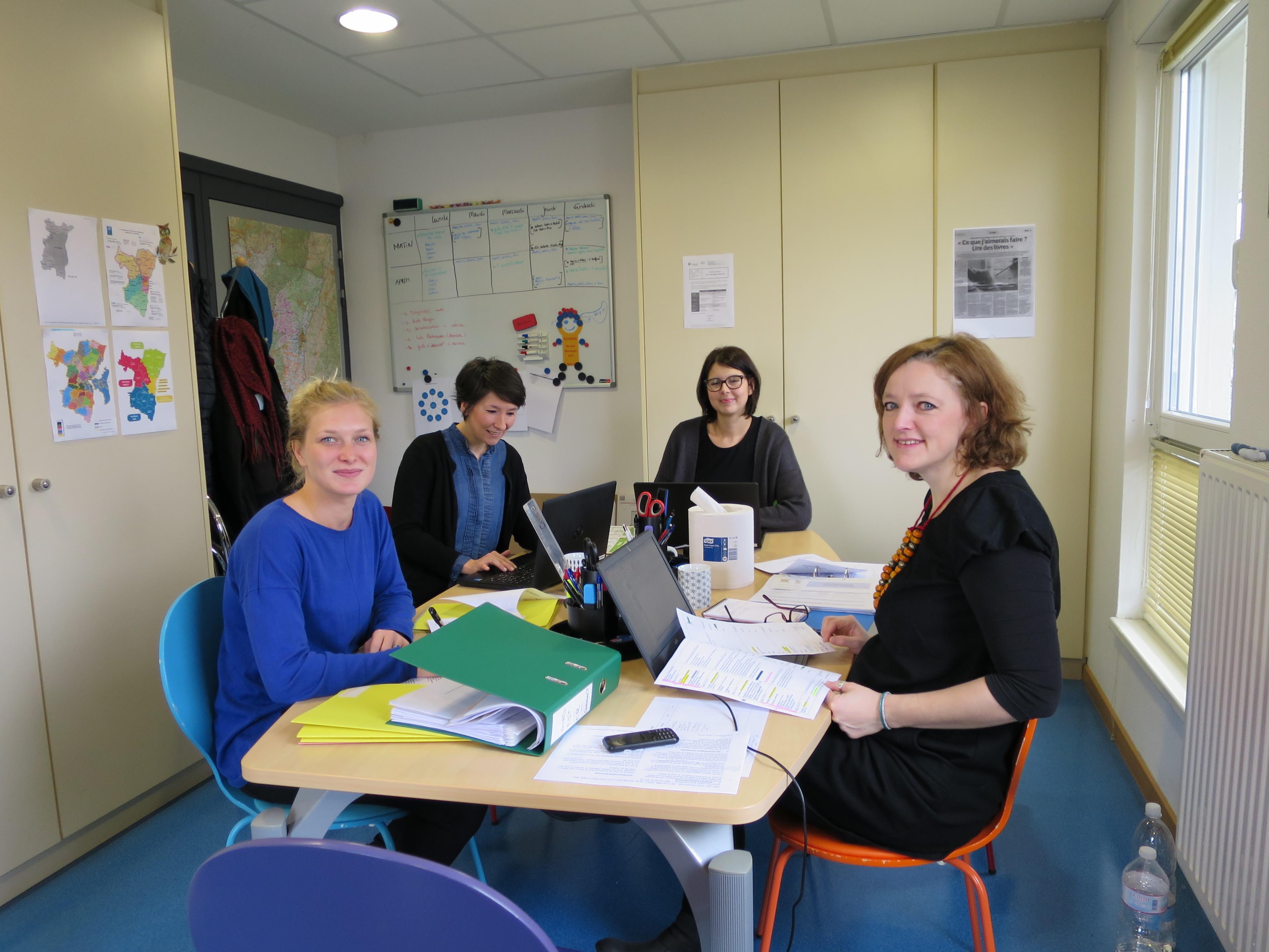Equipe du centre de ressources de Strasbourg