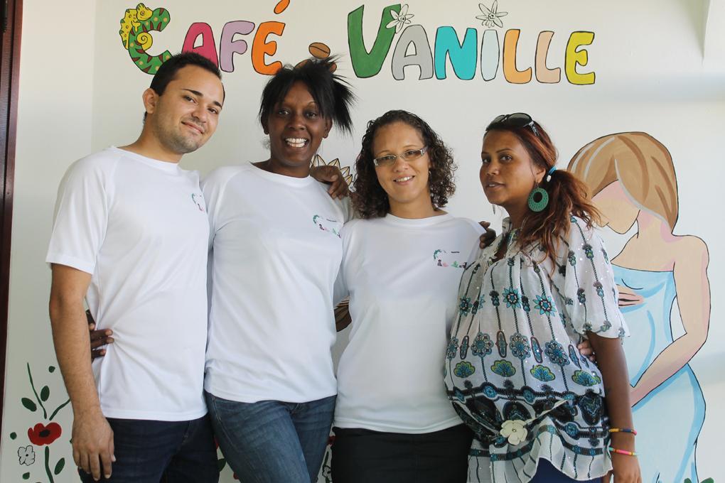 Equipe de la MAM café vanille